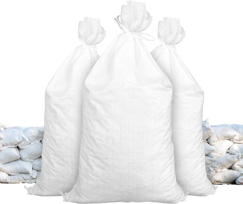 Sandbags Size 14 X 26 White Sandbags Empty Sandbags Wholesale Bulk Sand Bag Flood Water Barrier Water Curb Tent Store Bags By Sandbaggy 10 Bags Baumarkt