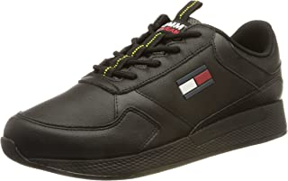 Tommy Jeans Herren Flexi Leather TJM Runner Sneaker