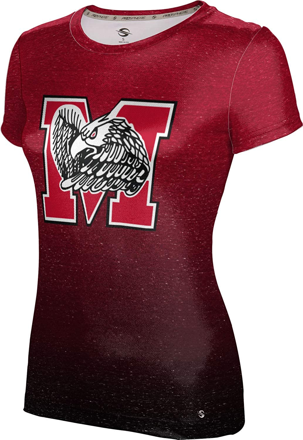 ProSphere Milford High School Girls' Performance T-Shirt (Ombre)