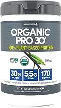 Designer Protein Organic Pro 30, Vanilla, 1.29 Pound, 100% Plant Based Protein Powder
