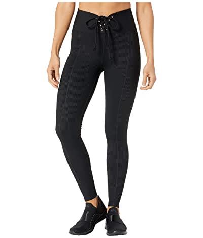 YEAR OF OURS Ribbed Football Leggings (Black) Women
