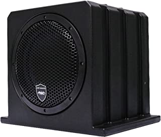 Wet Sounds Stealth AS-10 500 watts Active Subwoofer Enclosure (Renewed)