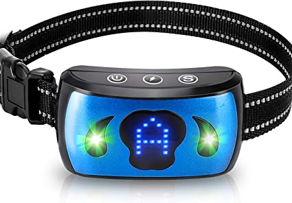 AAPOZZ Rechargeable Bark Collar