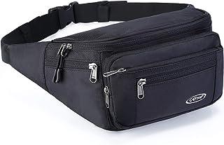 G4Free Fanny Pack Hip Waist Bag Belt Bag for Men Women Travel Sport Workout Outdoors Casual