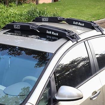 cuffslee Portapacchi Universale per Auto Portapacchi Gonfiabile Automatico Morbido Portatile capacit/à Portante pu/ò Raggiungere Circa 80 kg.