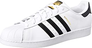 adidas Australia Men's Superstar Trainers, Core Black/Core Black/Core Black