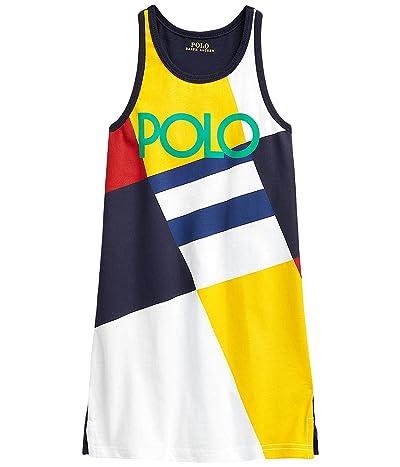 Polo Ralph Lauren Kids Logo Cotton Jersey Tank Dress (Little Kids)