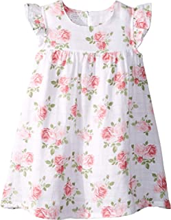 Mud Pie Baby Girl's Muslin Rose Dress (Infant/Toddler)