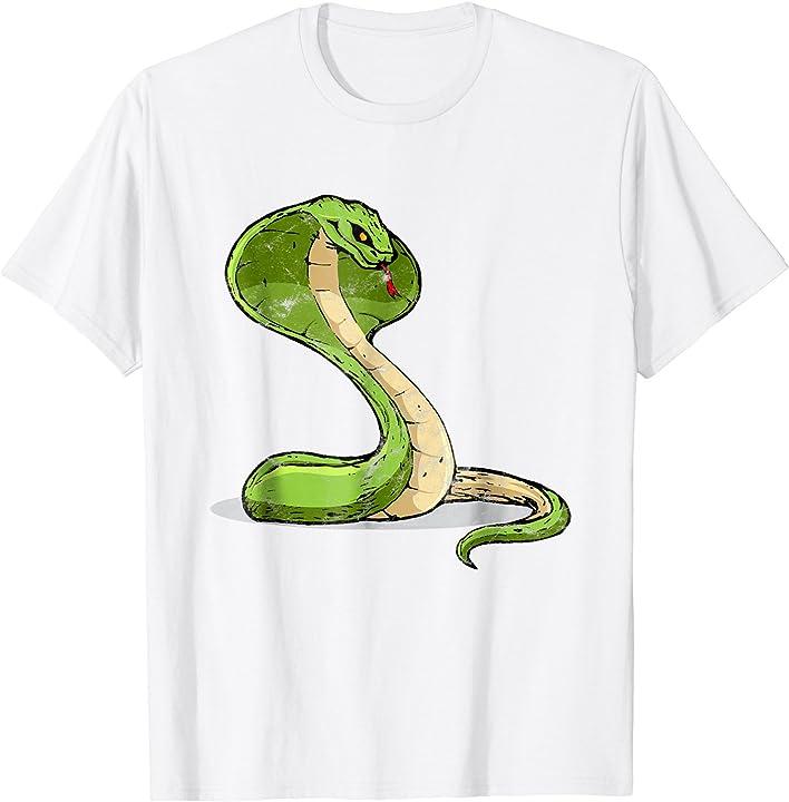 'King Cobra' Cool World Snake Day Animal Shirt