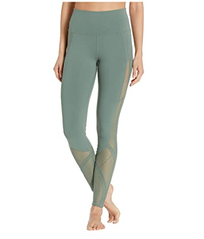 ALO High-Waisted Mosaic Leggings (Moss) Women