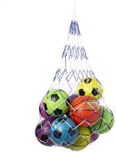 Double-Braided Sports Ball Carrying Net, Holds 20 Balls - Large Multi-sport Bag for Basketball, Football, Soccer, Volleyba...