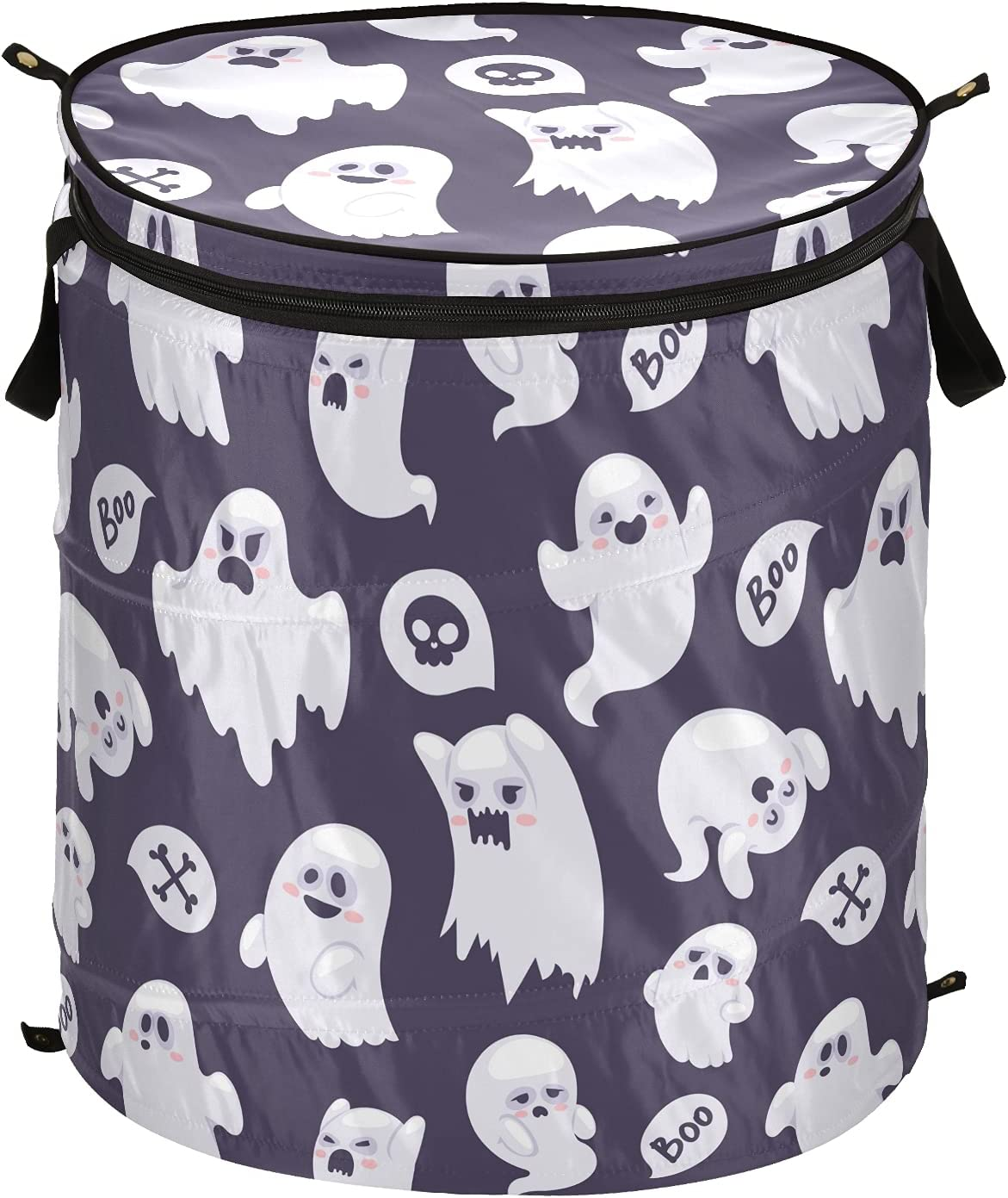 Happy Halloween Ghost Skull Monster Pop L Up Laundry Save money Challenge the lowest price of Japan with Hamper