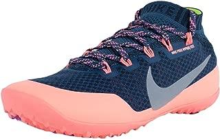 WMNS Free Hyperfeel Run Trail Runners Squadron Blue Silver Pink 616254 400