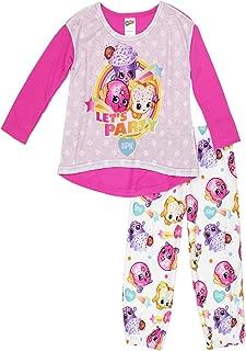 Shopkins Girls' Little 2-Piece Pajama Set