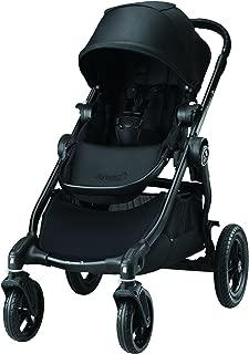 baby jogger(ベビージョガー) マルチユースベビーカー city select (シティセレクト) ブラック BK 5歳まで使える & 2人乗りにカスタマイズ可能 & トラベルシステム対応 2022278