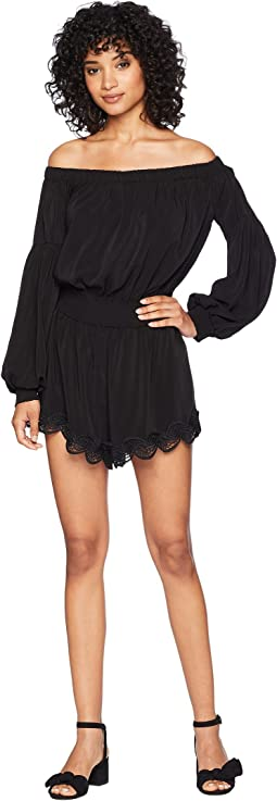 Gigi Off Shoulder Romper