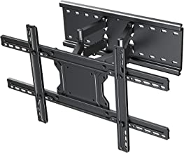 """TV Wall Mount Bracket Full Motion- Fits 16"""", 24"""" Wood Studs Articulating Swivel TV Mount for 37-70 Inch LED, LCD, OLED, Flat Screen, Plasma TVs - Weight up to 132lbs - VESA 600x400mm PERLESMITH"""