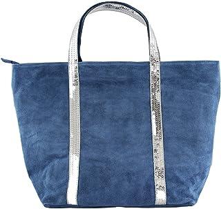 Chicca Borse 80035 Borsa a Mano, 43 cm, Blu Jeans