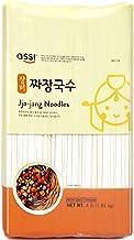 Assi Brand Oriental Style Noodle (Pasta) Dried Noodles, Jjajang, Net WT: 4 LBS (1.8kg) (1-pack)