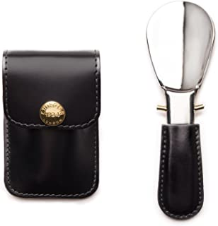 Bridle Hide Collection Travel Shoe Horn in Pouch