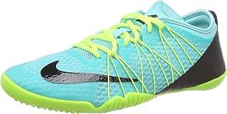 NIKE Women's Free 1.0 Cross Bionic 2 Running Shoe (8 B(M) US, Light Aqua/Black/Volt/White)