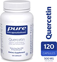 Pure Encapsulations - Quercetin - Hypoallergenic Supplement with Bioflavonoids for Cellular, Cardiometabolic and Immune Health* - 120 Capsules