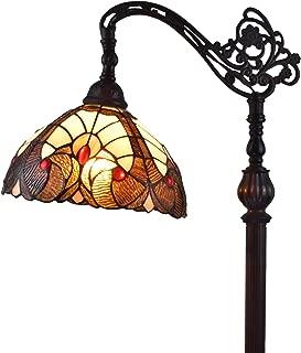 Amora Lighting Tiffany Style Floor Lamp Arched Vintage Antique 62