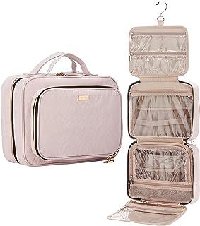 Sponsored Ad - NISHEL Hanging Travel Toiletry Bag, Visible Makeup Organizer, Makeup Case for Travel Accessories, Bathroom ...