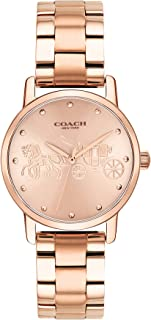 Coach Women'S Rose Gold Dial Ionic Rose Gold Plated Steel Watch - 14502977