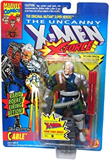 The Uncanny X-Men Cable 3rd Edition Figure With Rapid Rocket Firing Action