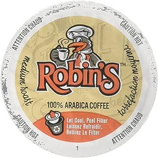 Robin's Coffee Single Serve Capsules, Medium Roast, 12 Count (Pack of 6)