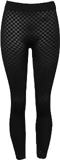 Crush Ladies Seamless Cable Knit Fur Lined Skinny Leggings