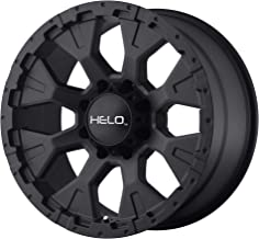 Helo HE878 17x9 8x6.5-12mm Satin Black Wheel Rim 17