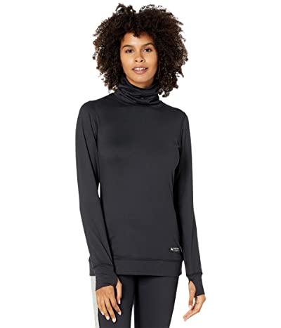 Burton Midweight Base Layer Long Neck Shirt (True Black) Women