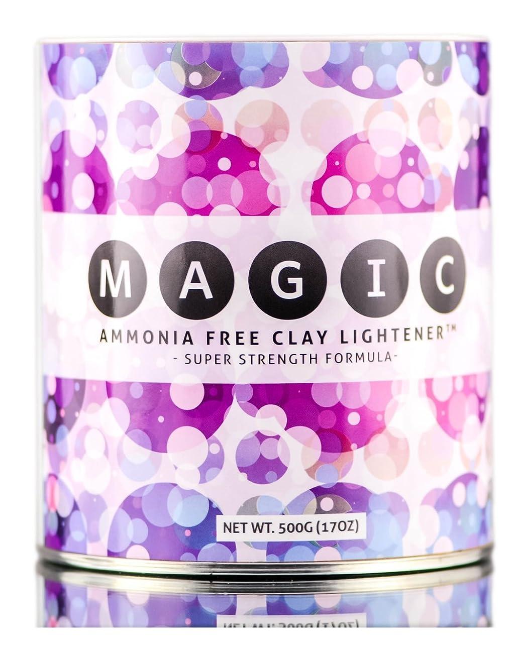 心から青地球Magic Lightener MAGICアンモニアフリーCLAYライトナー - スーパー強度式(500グラム/ 17オンス)