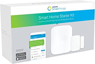 Smart Home Hub Starter Kit by Samsung SmartThings. Easiest Way to Turn Your Home Into a Smart Home.