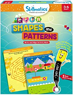 Educational Game : Shapes and Patterns 3-6 Years STEM Learning Creative Fun Activities, Skillmatics