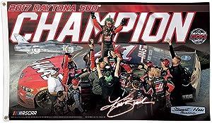 WinCraft Kurt Busch 2017 Daytona 500 Champion Banner Flag