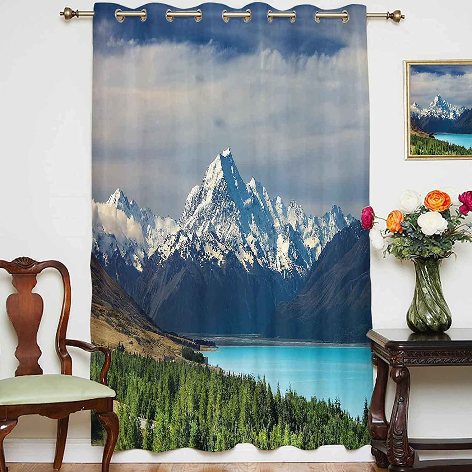 Blackout Curtains Panels Mount Cook and Lake Max 60% OFF New Zelan in Pukaki Ranking TOP13