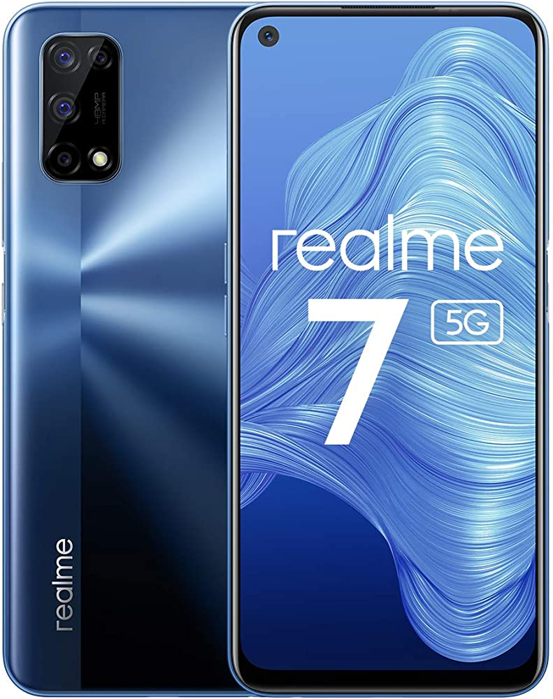 Realme 7 5g, baltic blue, 6+128gb,4 fotocamere da 48mp.