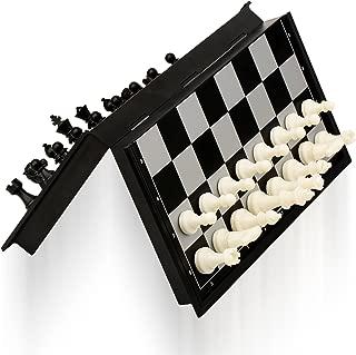 ColorGo チェスセット マグネット トラベル チェス盤 折りたたみ 知育玩具 子供 大人向け