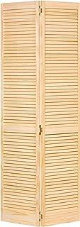 Closet Door, Bi-fold, Kimberly Bay Traditional Louver-Louver Clear (80x30)
