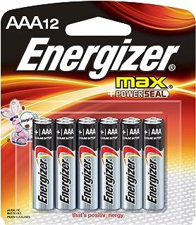 Energizer Max AAA Alkaline Batteries, 12-Pack