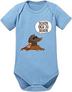 Shirtcity Schön Dich Zu Sehen Maulwurf Baby Strampler by