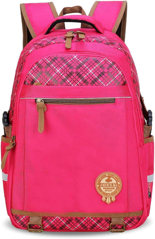 LAIDAYE Kid Girl Girl Girl Boy Bookbag Schulrucksack Wasserabweisende Elementary Dot Bookbag Mit Brustgurt B07JYJ6D7B | Stilvoll und lustig  64c81f