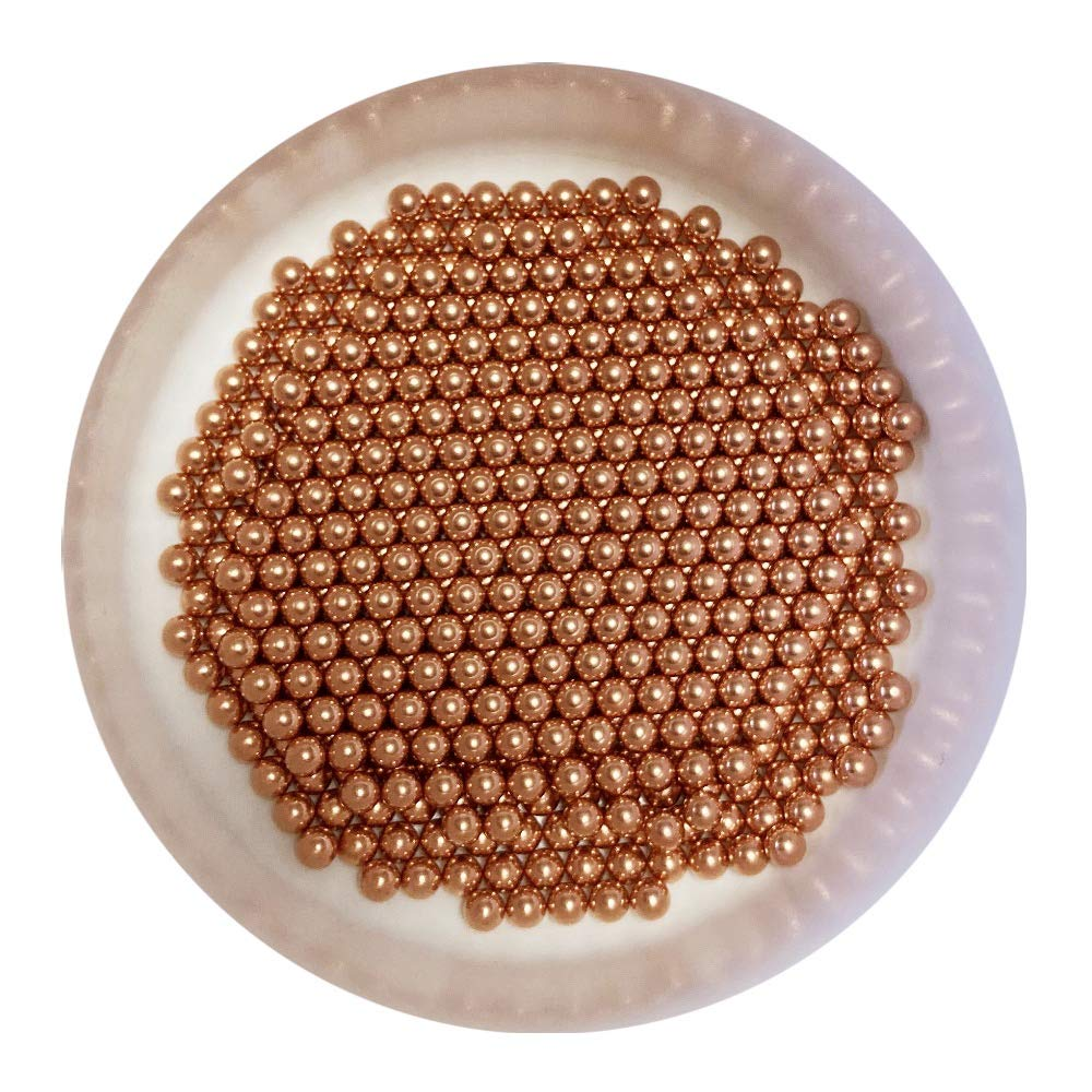 3mm 500pcs Solid Copper Bearing Cu Discount is also underway Min Save money 99.9% Balls
