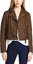 BURBERRY Brit Women Oakcliffe Quilted Jacket, Military Khaki