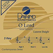 O Lord [Accompaniment/Performance Track]