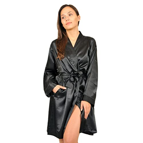 710386828183a Up2date Fashion Women's Satin Charmeuse Robes, Style#Gwn-11