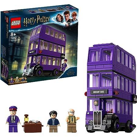 LEGOHarryPotterNottetempo,SetdaCollezioneconAutobusGiocattoloa3PianiconMinifigure,75957